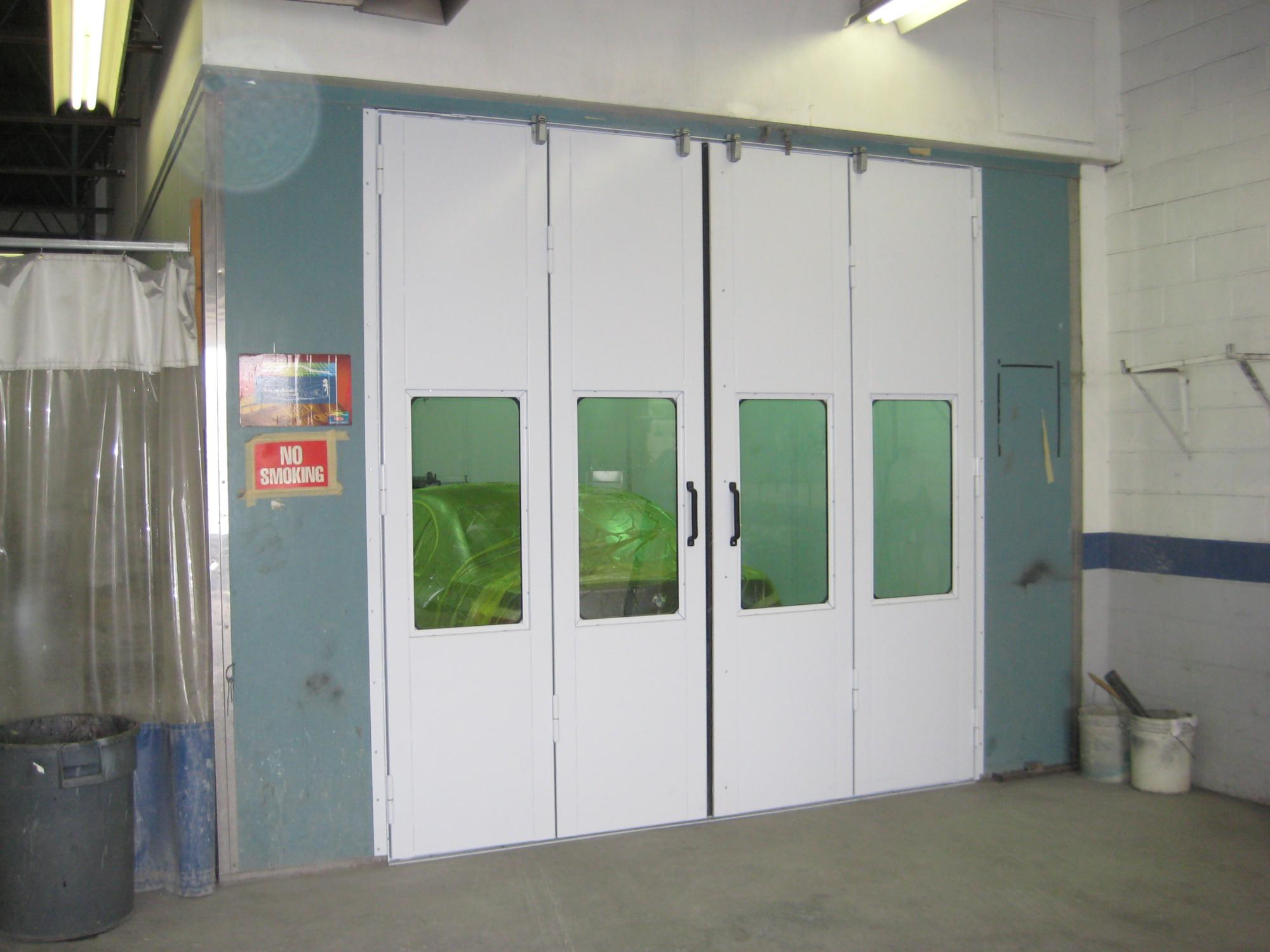 Spray Booth Retrofit
