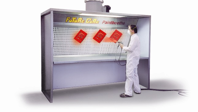 Industrial Downdraft Tables Spray Tables are ideal for spraying smaller objects where a work bench ...