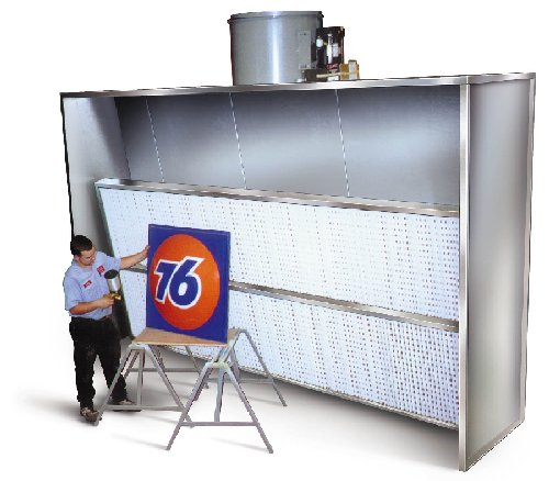 Industrial Downdraft Tables Exhaust Wall Systems